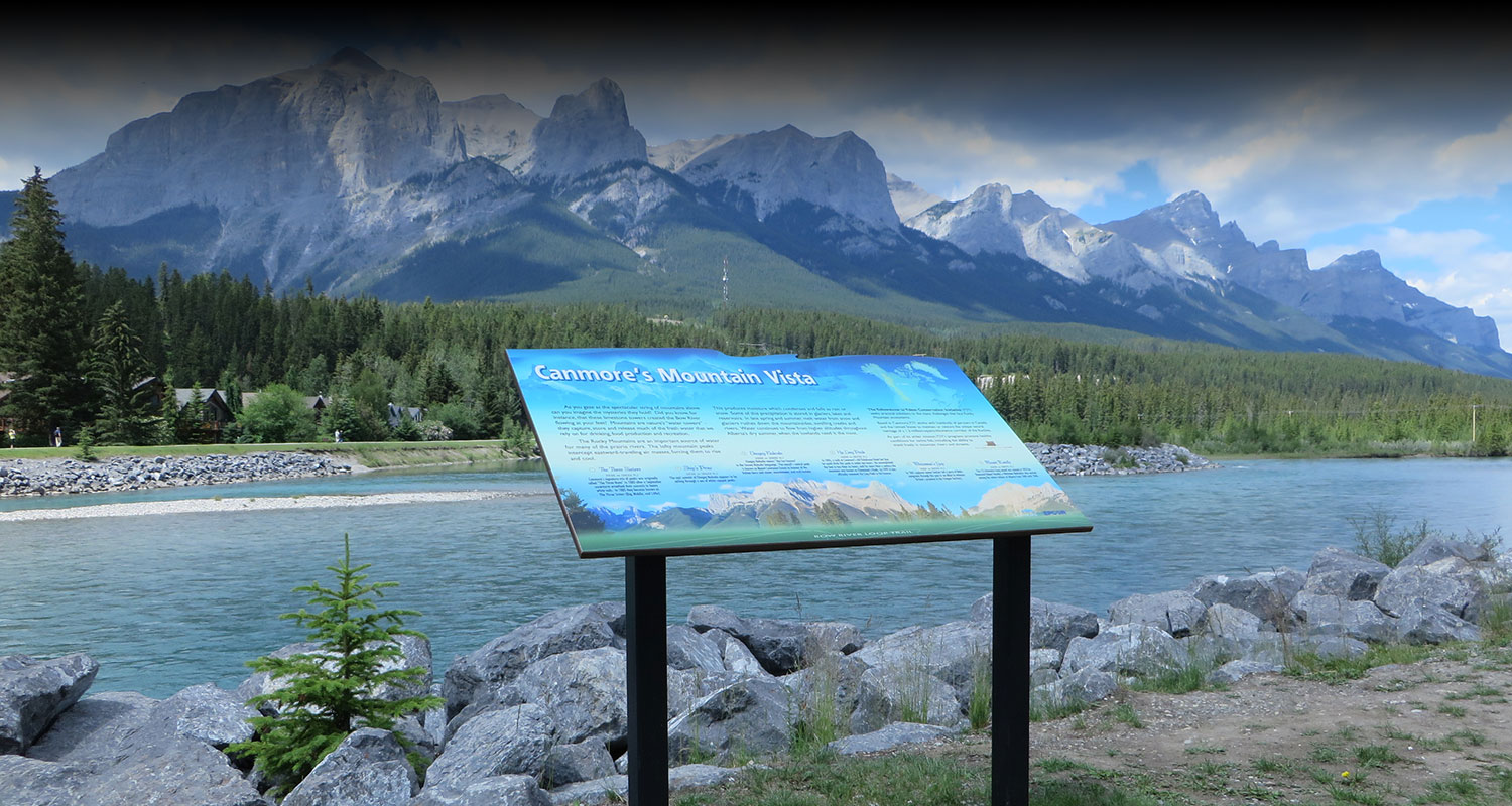 BOW RIVER LOOP, CANMORE