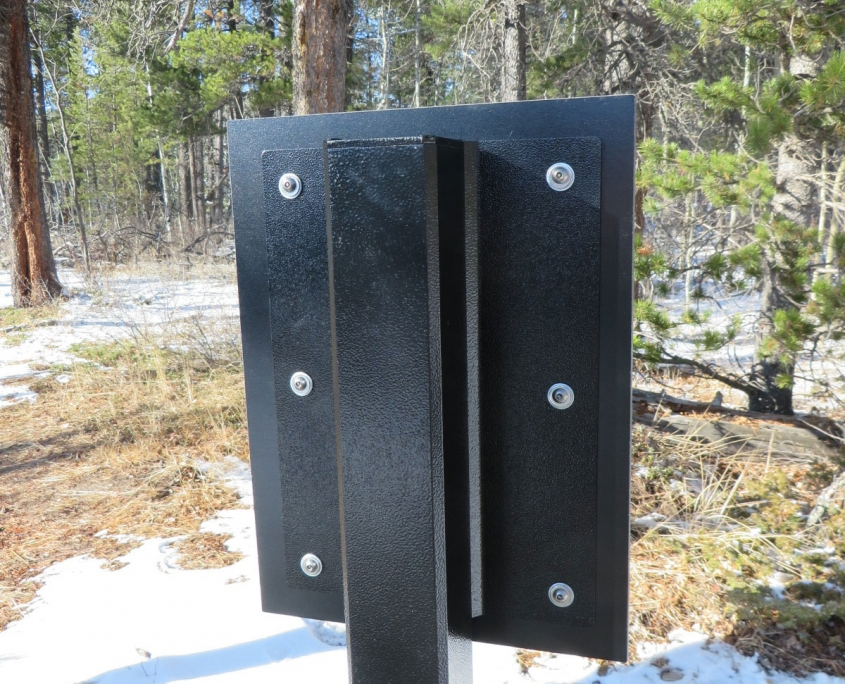 10 X 14 FLAT MOUNT PLATE WITH HPL