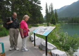 BOW RIVER PATHWAY, BANFF NP